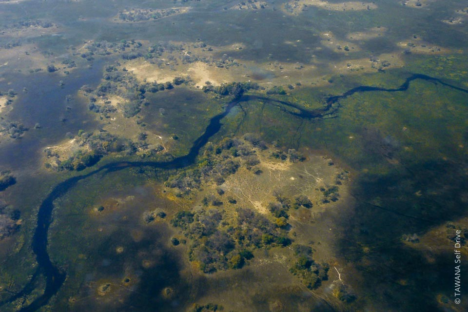 The Okavango Delta is the second world's largest inland delta.