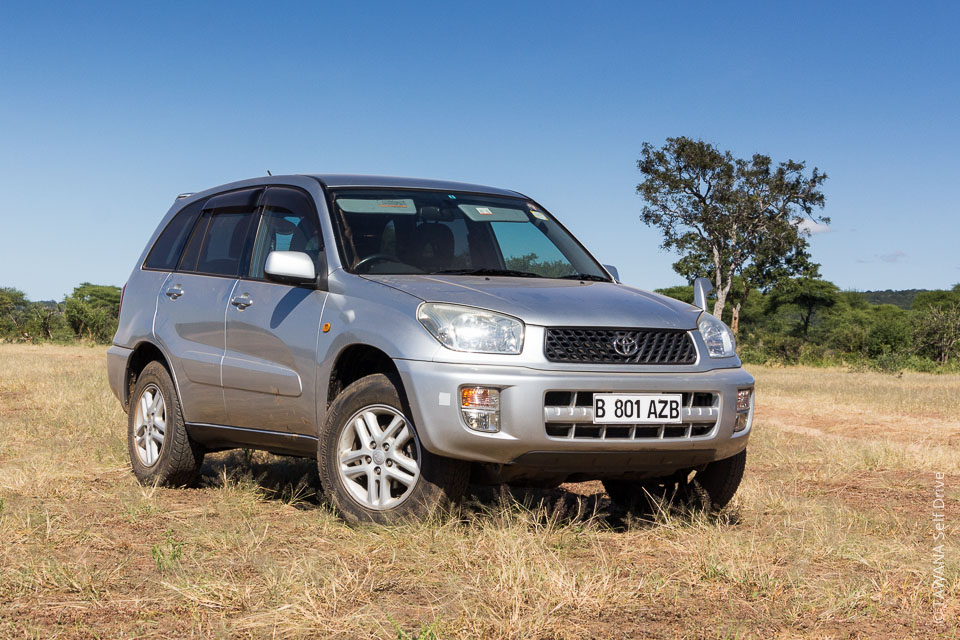Location de 4x4 au Botswana : Rav4