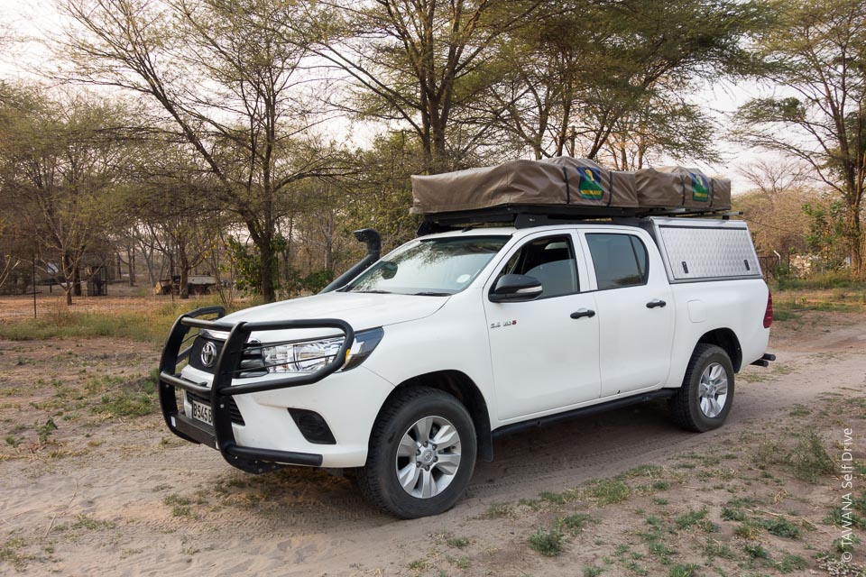 Fully equipped 4x4 car rental in Botswana - Tawana Self Drive