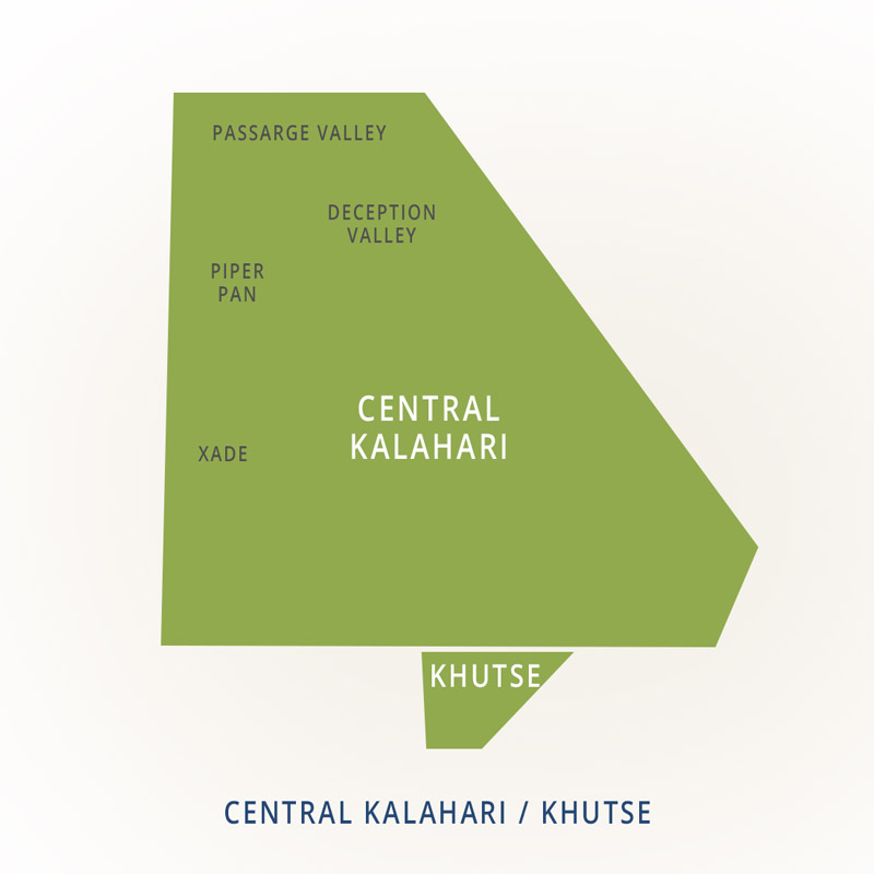 National Parks of Botswana: Central Kalahari