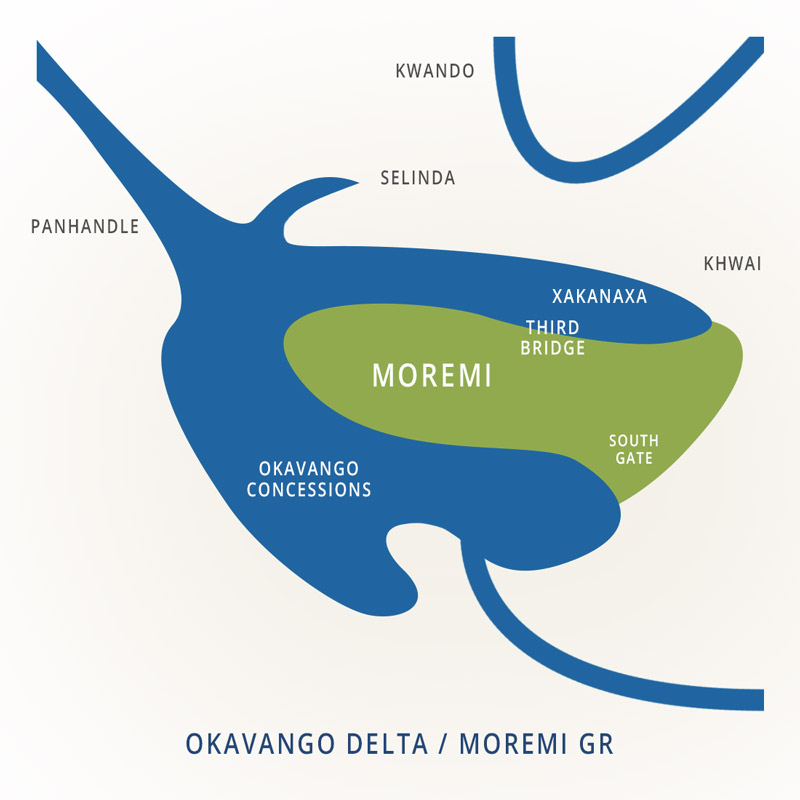 National Parks of Botswana: Moremi